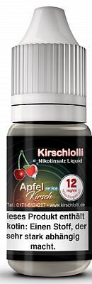 Kirschlolli - Apfel Kirsch on Ice - Nikotinsalz Liquid