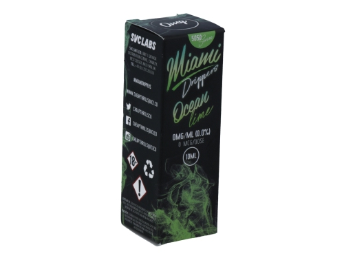 Miami Drippers - Ocean Lime - E-Zigaretten Liquid 12 mg/ml