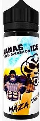 Samurai Maza - Aroma Ananas Apfel Splash on Ice 20m/120ml Flasche