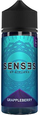 Six Licks - Senses Grappleberry 100ml - 0mg/ml