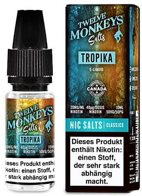 Twelve Monkeys - Tropika Nikotinsalz Liquid 20mg Flasche