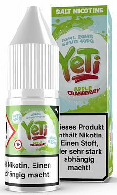 Yeti - Honeydew Blackcurrant - E-Zigaretten Nikotinsalz Liquid 20mg/mlYeti - Watermelon - E-Zigaretten Nikotinsalz Liquid 20mg/mlYeti - Apple Cranberry - E-Zigaretten Nikotinsalz Liquid 20mg/ml