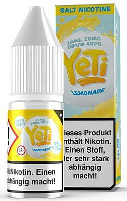 Yeti - Lemonade - E-Zigaretten Nikotinsalz Liquid 20mg/ml