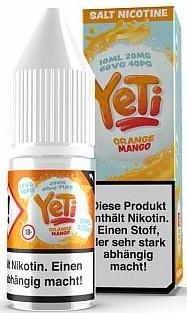 Yeti - Orange Mango - E-Zigaretten Nikotinsalz Liquid 20mg/ml