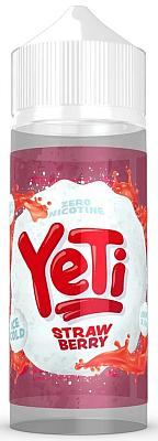 Yeti - Strawberry - 0mg/ml 100ml