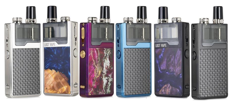 Lost Vape Original Plus DNA E-Zigaretten Set alle Farben