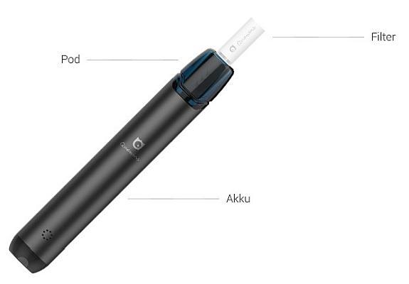 Quawins VStick Pro Pod E-Zigaretten Set im Detail