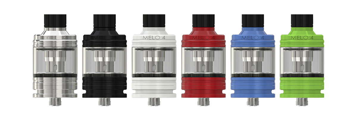 MELO 4 D22 CLEAROMIZER SET alle Farben