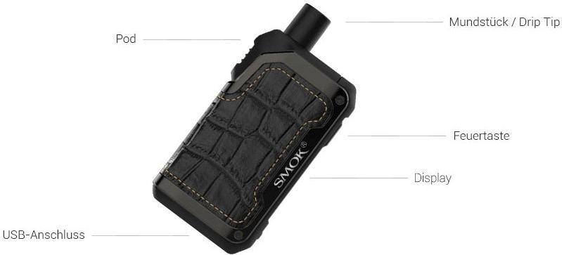 Alike E-Zigaretten Set - SMOK Pod-System im Detail