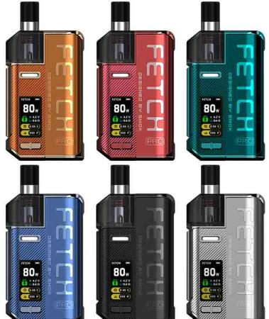 Die Fetch Pro E-Zigarette alle Farben