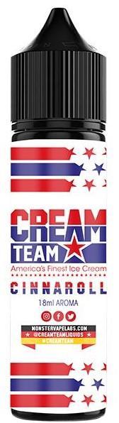 Cream Team - Aroma Cinnaroll 18ml/60ml Flasche