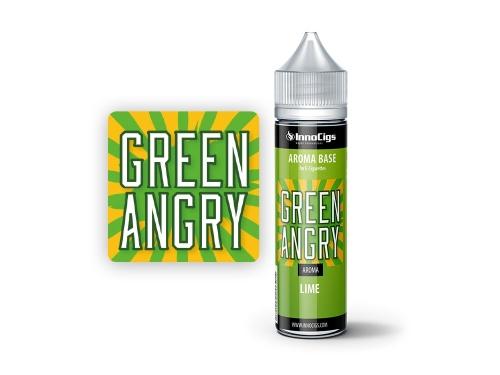 InnoCigs Shake & Vape Flasche Green Angry