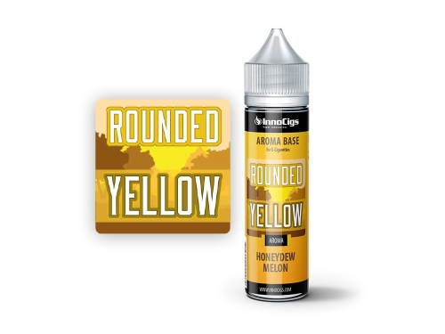 InnoCigs Shake & Vape Flasche Rounded Yellow