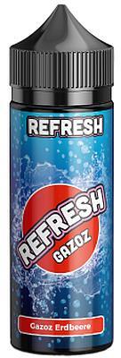 Refresh Gazoz - Aroma Erdbeere 10ml/120ml Flasche