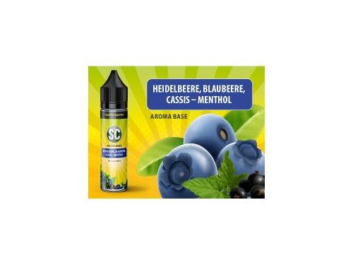 Vape Base - Heidelbeere, Blaubeere, Cassis-Menthol
