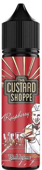 The Custard Shoppe - Aroma Raspbeery 18ml/60ml Flasche