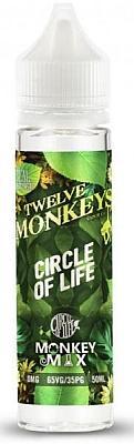 Twelve Monkeys - Circle of Life Monkey Mix 0mg/ml 50ml/60ml Flasche