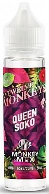 Twelve Monkeys - Circle of Life Queen Soko Monkey Mix 0mg/ml 50ml/60ml Flasche