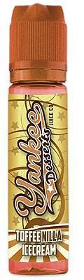 Yankee Juice - Desserts - Aroma Toffeenilla Icecream 15ml/60ml Flasche