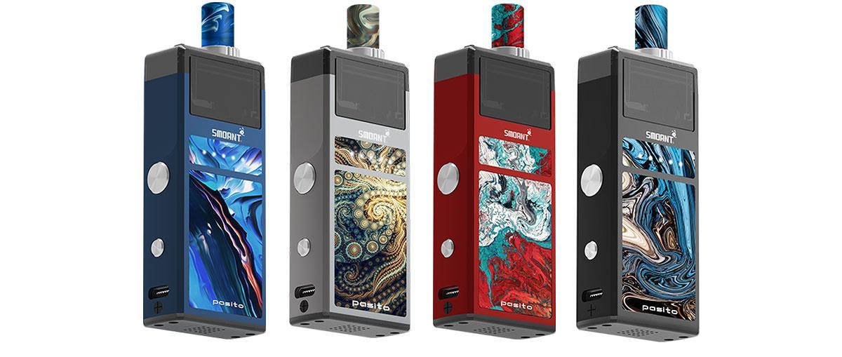 Pasito E-Zigarette Von SMOANT alle Farben