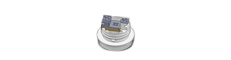 Steam Crave Glaz Mini MTL RTA Single Coil Deck