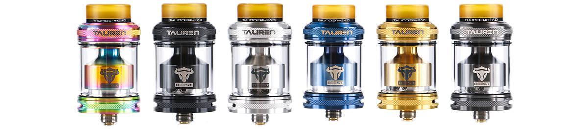 ThunderHead Creations Tauren RTA Clearomizer Set alle Farben