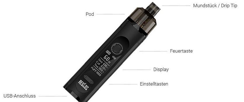 Uwell Aeglos H2 E-Zigaretten Set im Detail