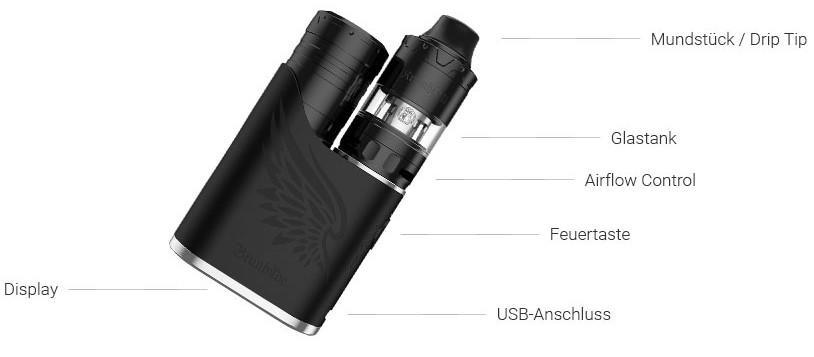 Vapefly Brunhilde SBS E-Zigaretten Set im Detail