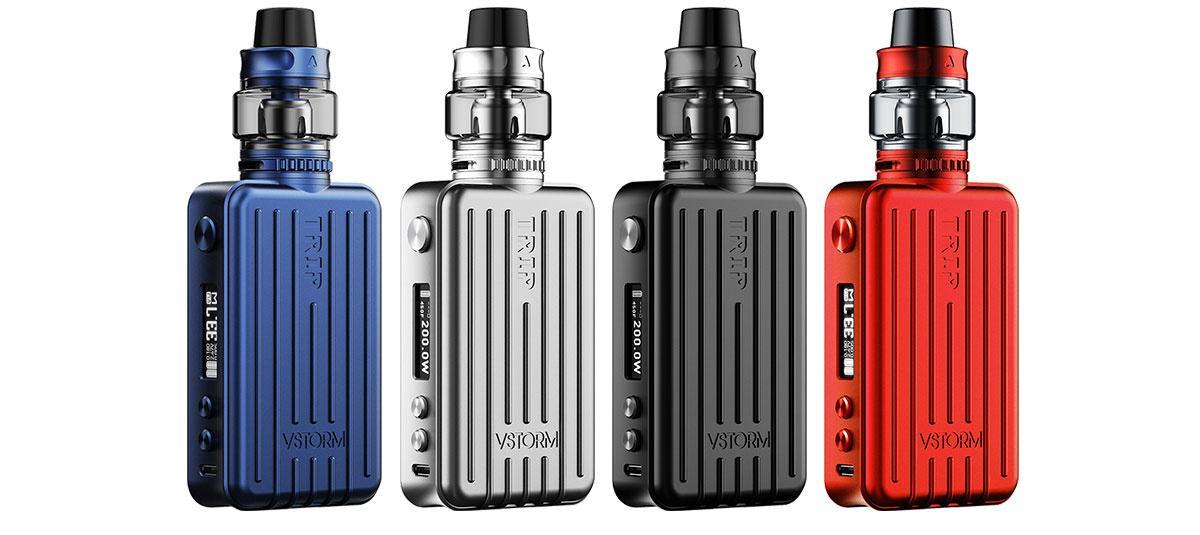 Vapor Storm Trip E-Zigaretten Set alle Farben