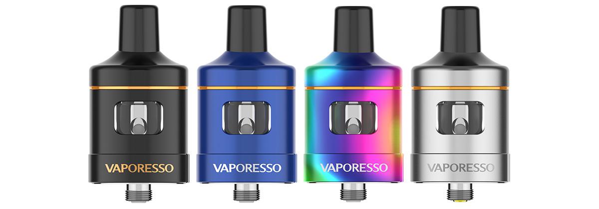 Das Vaporesso VM 25 Clearomizer Set alle Farben