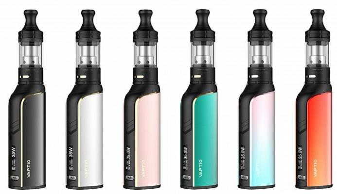 Vaptio Cosmo Plus E-Zigaretten Set alle Farben