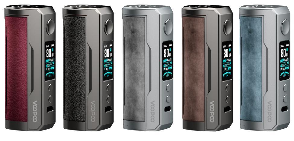 VooPoo Drag X Plus 100 Watt alle Farben