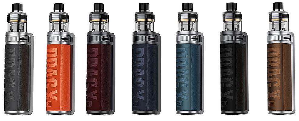 VooPoo Drag X Pro E-Zigaretten Set alle Farben