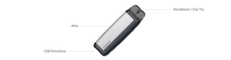 Find Pod E-Zigaretten Set von VooPoo in Detail