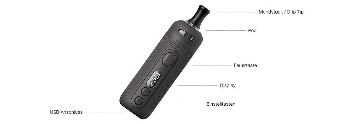VooPoo SEAL E-Zigaretten Set im Detail