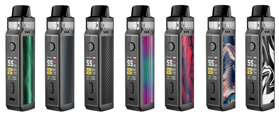 VooPoo Vinci X E-Zigaretten Set alle Farben