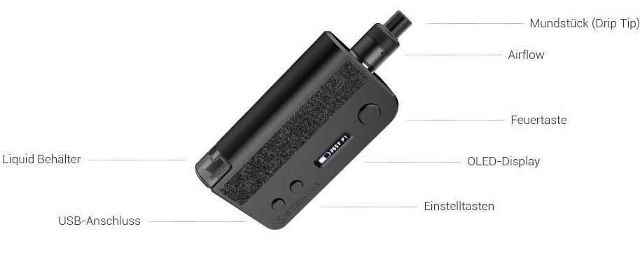Vsticking VKsma E-Zigaretten Set im Detail