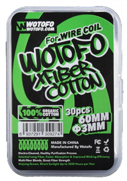 Wotofo Profile Xfiber Watte 3mm