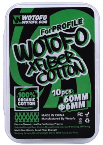 Wotofo Profile Xfiber Watte 6mm
