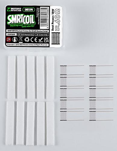 Wotofo SMRT RPM Mesh-Cotton Set