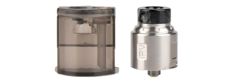 iPV Finder BF RDA Clearomizer Set im Squonkerbetrieb